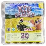 Яйца куриные Big Family 30шт