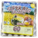 Яйцо куриное Big Family 60шт