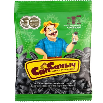 Семена подсолнeчника Сан Саныч 55г - купить, цены на Метро - фото 1