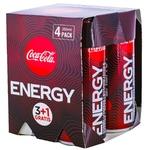 Энергетический напиток Coca-Cola 4шт x 0,25л