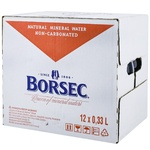 Apa minerala necarbogazoasa Borsec sticla 12x0,33L