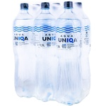 Вода столовая газированная Aqua Unica 5+1 1,5л