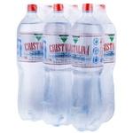 Столовая газированная вода Cristalina 6x1,5л