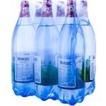 Вода минеральная газированная Borsec ПЭТ PET 6x1,5л