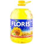 Масло подсолнечное Floris 5л