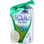 Хлебцы Riso Scotti из кукурузы и риса с травами 100г