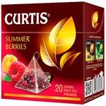 Ceai Curtis plante in piramide cu fructe de padure 20x1,8g