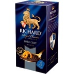 Чай Richard черный в пакетиках Lord Grey 25x2г