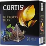 Чай Curtis черный в пирамидках с черникой 20x1,8г
