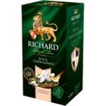 Ceai Richard Verde Jasmine în plicuri 25x2g