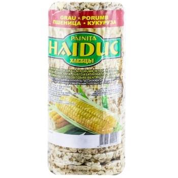 Хлебцы Haiduc пшеница/ кукуруза 100г - купить, цены на Метро - фото 1
