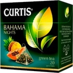 Ceai Curtis verde in piramide Bahama Nights 20x1,8g