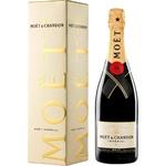 Шампанское Moët & Chandon белое брют 0,75л