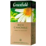 Чай Greenfield ромашковый в пакетиках 25x1,5г