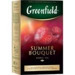 Ceai Greenfield cu zmeura Summer Bouquet 100g