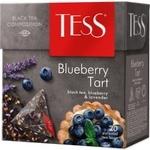 Чай Tess черный в пирамидках Berry Bar 20x1,8г