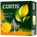 Ceai Curtis verde in piramide cu mango 20x1,8g