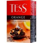Ceai Tess negru infuzie cu portocala 100g