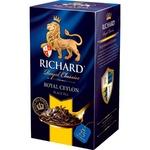 Чай Richard черный в пакетиках Цейлон 25x2г