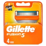Кассеты для бритья Gillette Fusion 4шт