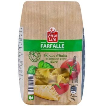 Фарфалле Fine Life из твердых сортов пшеницы 500г - купить, цены на Метро - фото 1