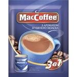 Cafea solubilă MacCoffee cu aromă de lapte condensat 3in1 20 pliculețe x18g