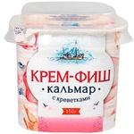 Паста рыбная Европром крем-фиш кальмар с креветками 150г