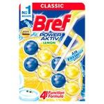 Odorizant WC Bref Blue Aktiv Duo Lemon 2x50g