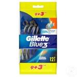 Станки для бритья Gillette Blue3 одноразовые 12шт