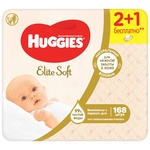 Влажные салфетки Huggies Elite Soft 3x56шт
