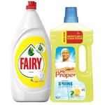 Fairy 1.3ml + Mr. Proper 1l -20%