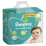 Scutece Pampers Active Baby 11-16kg Nr.5 64buc