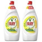 Detergent de vase Fairy Lemon 2X800ml
