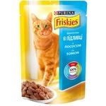 Корм для кошек Friskies лосось/соус 85г