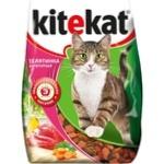 Корм сухой для кошек Kitekat телятина 350г
