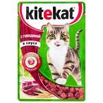Корм для кошек Kitekat говядина 85г