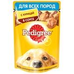 Корм для собак Pedigree курица 85g