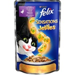 Hrana pentru pisici Felix rata/spanac 100g