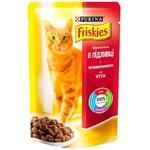 Корм для кошек Friskies говядина соус 85г