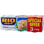 Ton Rio Mare in suc propriu 3x160g