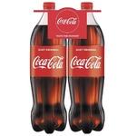 Băutură răcoritoare carbogazoasă Coca-Cola PET 2x1,5l
