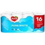 Hartie igienica Ruta White 3 straturi 16 role