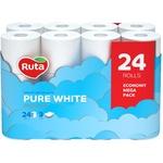 Hârtie igienică Ruta 3 straturi 24 role