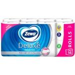 Hirtie igienica Zewa Deluxe Delicat Care 3 straturi 16role