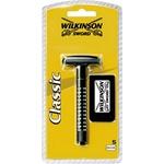 Бритвенный станок Classic Wilkinson + сменные лезвия 5 штук