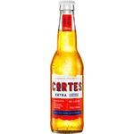 Bere blondă Cortes Extra 0,33l
