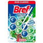 Odorizant WC Bref Blue Aktiv Duo Pine 2x50g