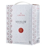 Вино Cricova National Мерло красное сухое bag in box 3л
