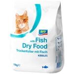 Корм сухой для кошек ARO рыба 1кг