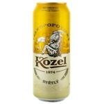 Пиво светлое Kozel ж/б 0,5л